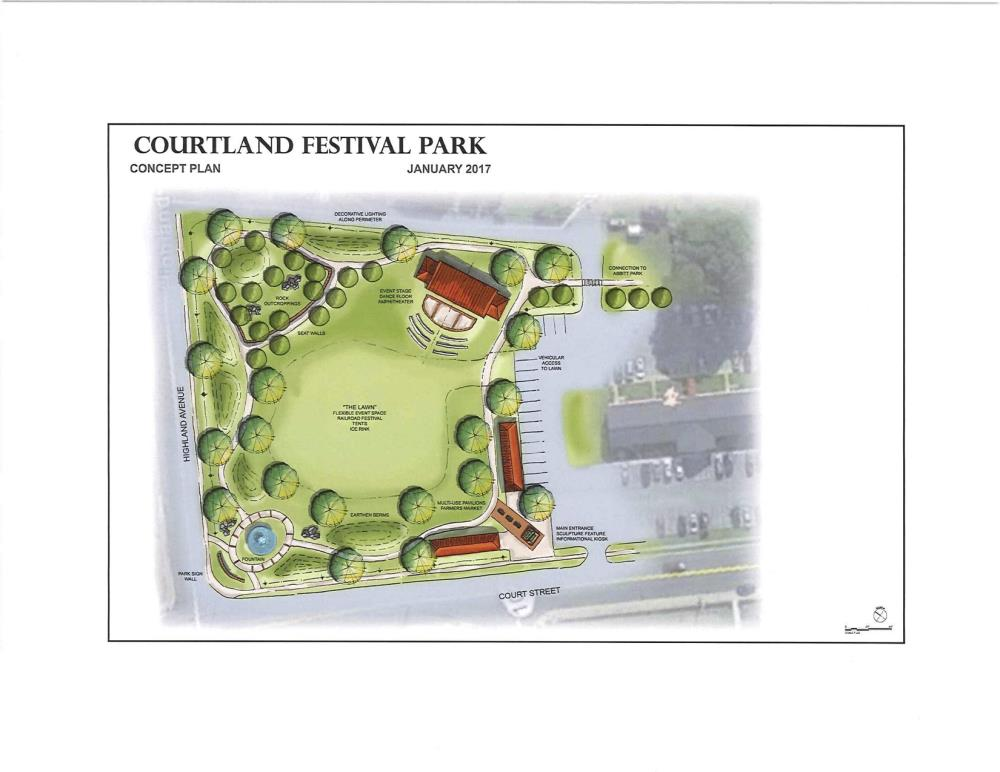 Courtland Field Conceptual Plan
