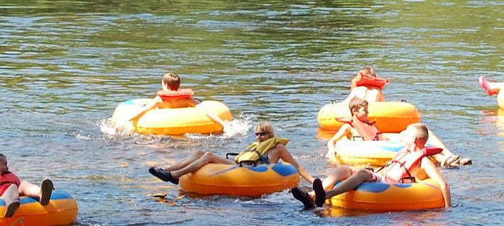 Floating the Historic James River at James River State Park