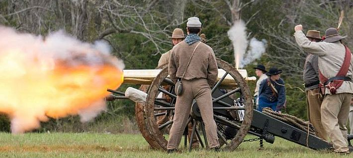 Confederate Artillery at Appomattox 150th, 2015