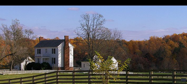 Appomattox Court House NHP in glorious fall colors