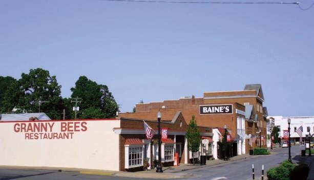 Photo of Downtown Appomattox, Virginia