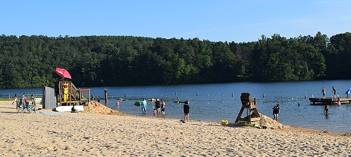The Beach at Holliday Lake State Park