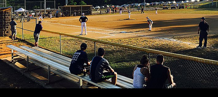 Ballgame at Appomattox Community Park, Police Tower Road.