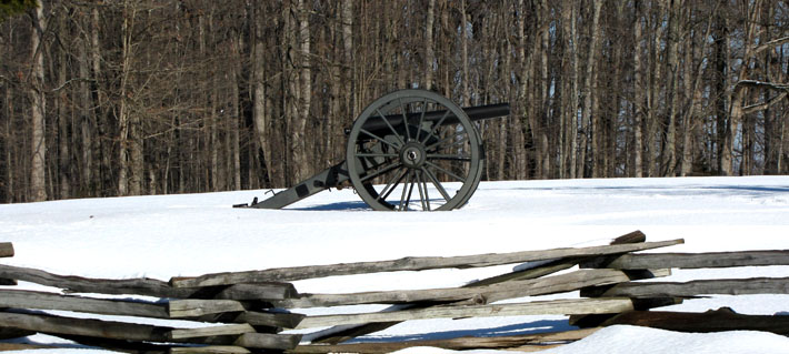 Winter at Appomattox Court House NHP